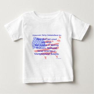 Individual Democratic Commandment #10 Baby T-Shirt