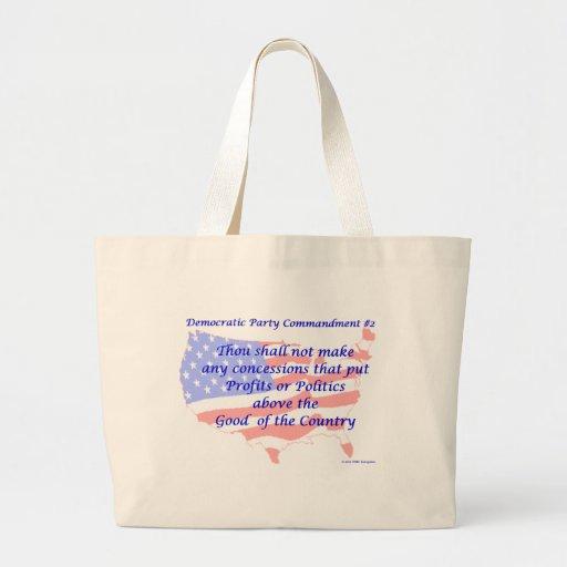 Individual Democratic Commandment #2 Bags