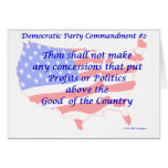 Individual Democratic Commandment #2 Cards