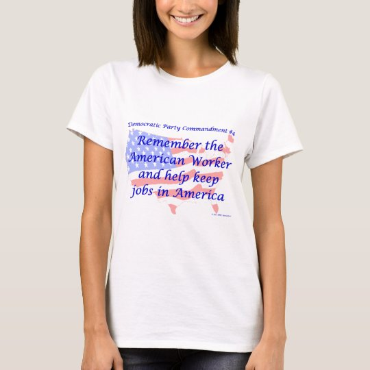 Individual Democratic Commandment #4 T-Shirt