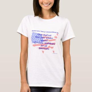 Individual Democratic Commandment #9 T-Shirt