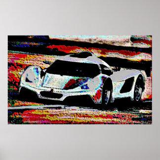 Individual Effects Car enamel Poster