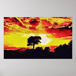 Individual Effects Golden Sun faa24 Poster