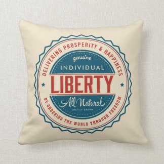 Individual Liberty Throw Pillow