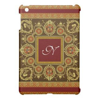Individual Monogram Antique iPad Case