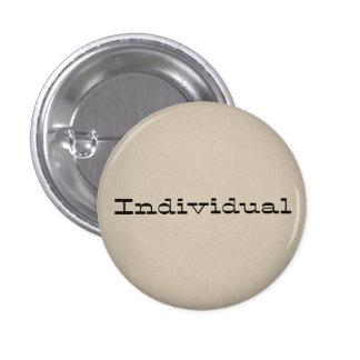 Individual Pin Redondo De 1 Pulgada