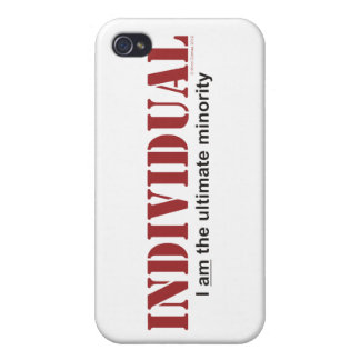 Individual...The Ultimate Minority iPhone 4 Case