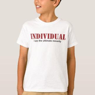 Individual...The Ultimate Minority T-Shirt