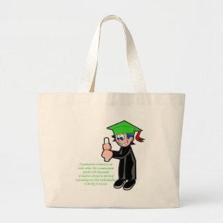 Individualidad en la graduación bolsas