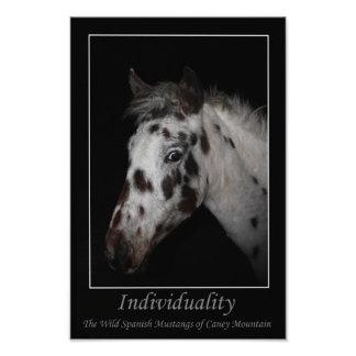 Individualidad - mustangos españoles salvajes fotografía