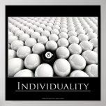 Individualidad Poster