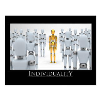 Individualidad Tarjetas Postales