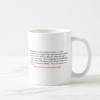 Individualism Definition Coffee Mug