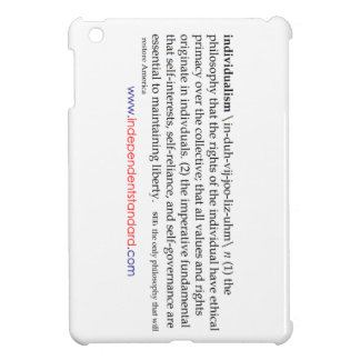 Individualism Definition iPad Mini Cases