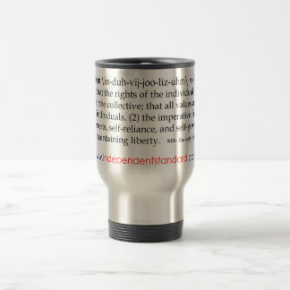 Individualism Definition Travel Mug