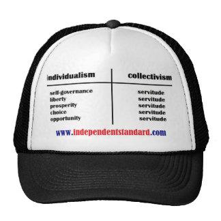 Individualism vs. Collectivism Trucker Hat
