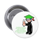 Individuality at Graduation Pinback Buttons
