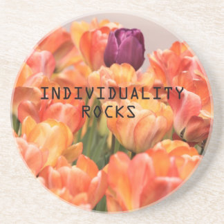 Individuality Rocks Coasters