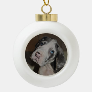 individually or with Dogge Ceramic Ball Christmas Ornament