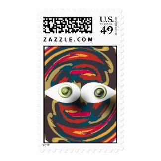 Individuo 101 del ojo sellos