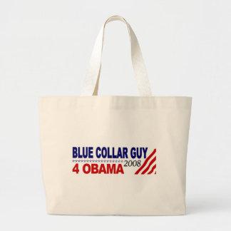 Individuo 4 Obama del cuello azul Bolsas
