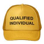 Individuo calificado gorra