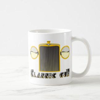 Individuo clásico - parrilla brillante del cromo d tazas de café