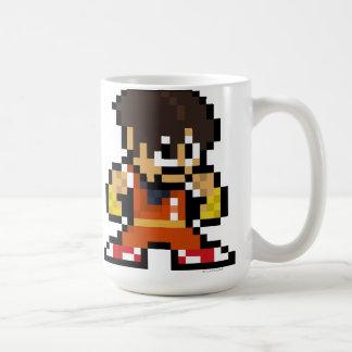 individuo de 8 bits taza de café