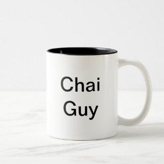 Individuo de Chai Taza De Dos Tonos