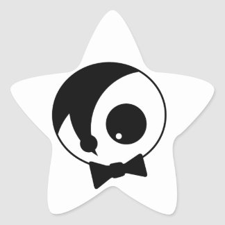 Individuo de Emo Pegatina En Forma De Estrella