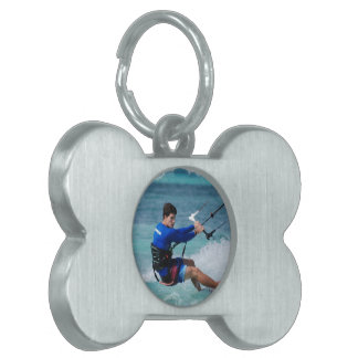 Individuo de Kitesurfing Placas Mascota