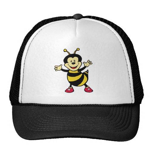 Individuo de la abeja gorros bordados