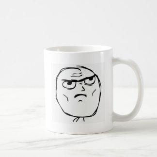 Individuo de la determinación taza de café