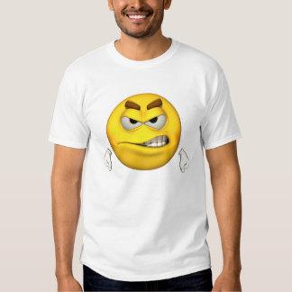 Individuo de la emoción - camiseta enojada playera