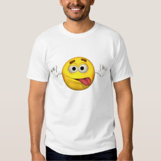 Individuo de la emoción - de la lengua camiseta playera