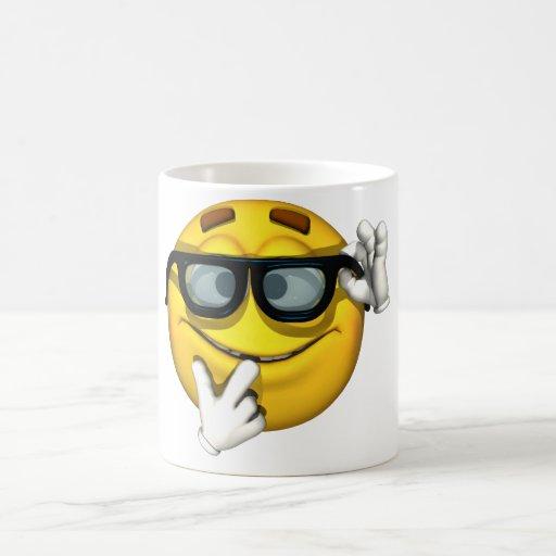 Individuo de la emoción - taza del empollón