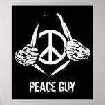 Individuo de la paz poster