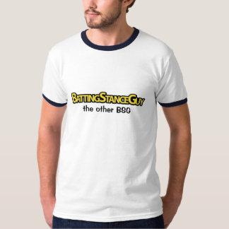 Individuo de la postura del bateo: el otro BSG Remera