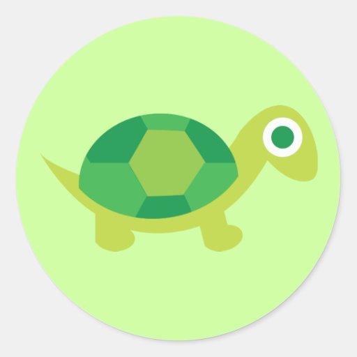 Individuo de la tortuga de Lil Etiquetas