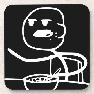 Individuo de Meme del cereal Posavasos