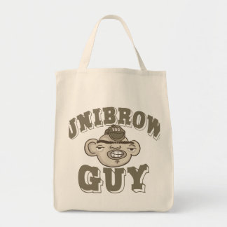 Individuo de Unibrow con el gorra Bolsa