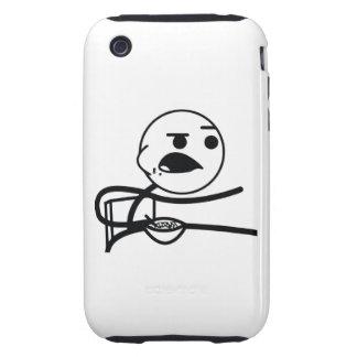 Individuo del cereal carcasa though para iPhone 3