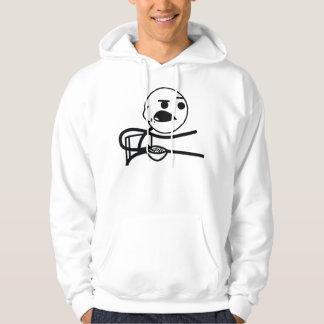 Individuo del cereal suéter con capucha