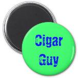 Individuo del cigarro imanes de nevera