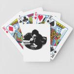 individuo del fiesta baraja de cartas