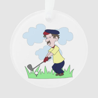 Individuo del golfista