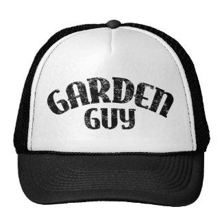 Individuo del jardín gorro de camionero