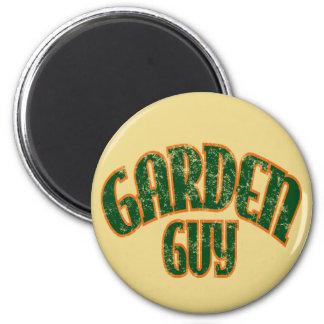 Individuo del jardín imán redondo 5 cm