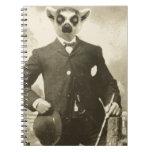 individuo del lemur libro de apuntes