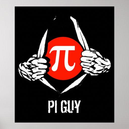 Individuo del pi póster